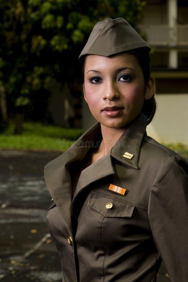 kobiety armii personelu obraz stock