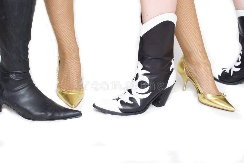 kobiety butów obrazy royalty free