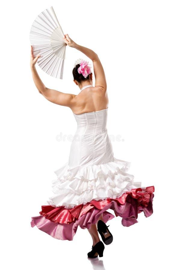 Kobiety gypsy flamenco tancerz zdjęcia stock