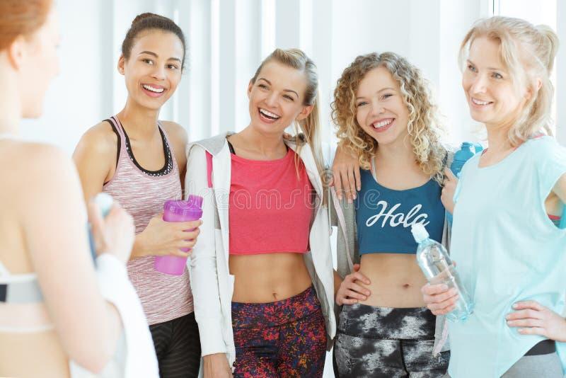 Kobiety i zdrowy styl życia obrazy stock