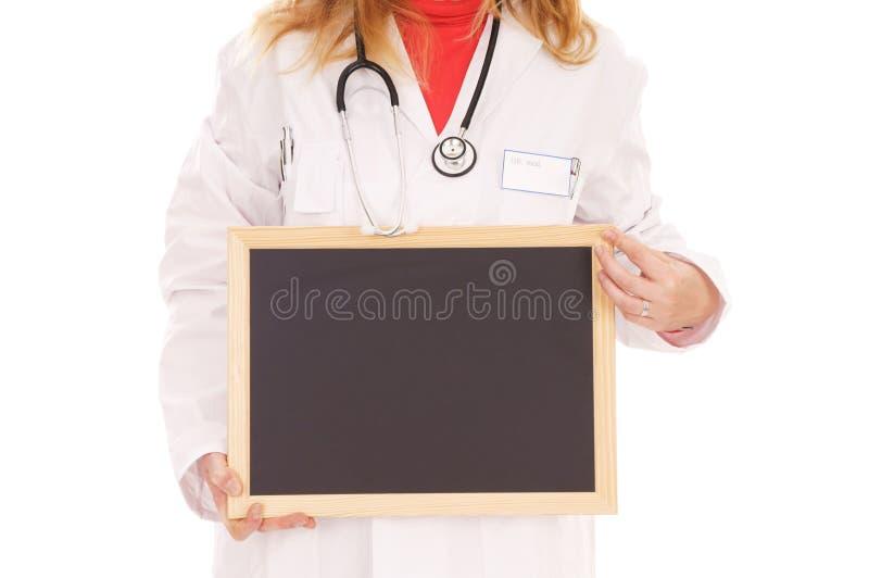 Download Kobiety lekarka zdjęcie stock. Obraz złożonej z pusty - 28969770
