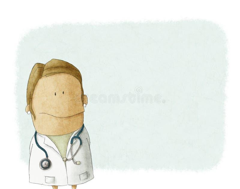 Kobiety lekarka ilustracja wektor