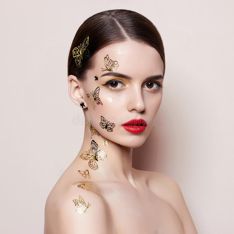 kobiety modnej young obrazy royalty free