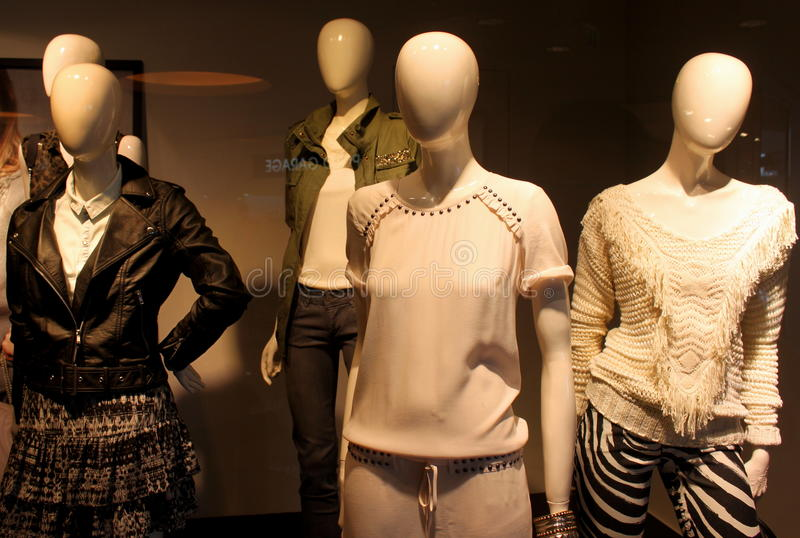 Kobiety mody odzież fotografia royalty free
