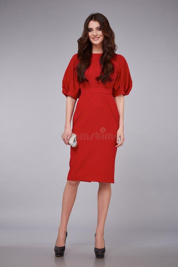 Kobiety mody pięknego stylu kolekci modela odzieżowy katalog obrazy royalty free