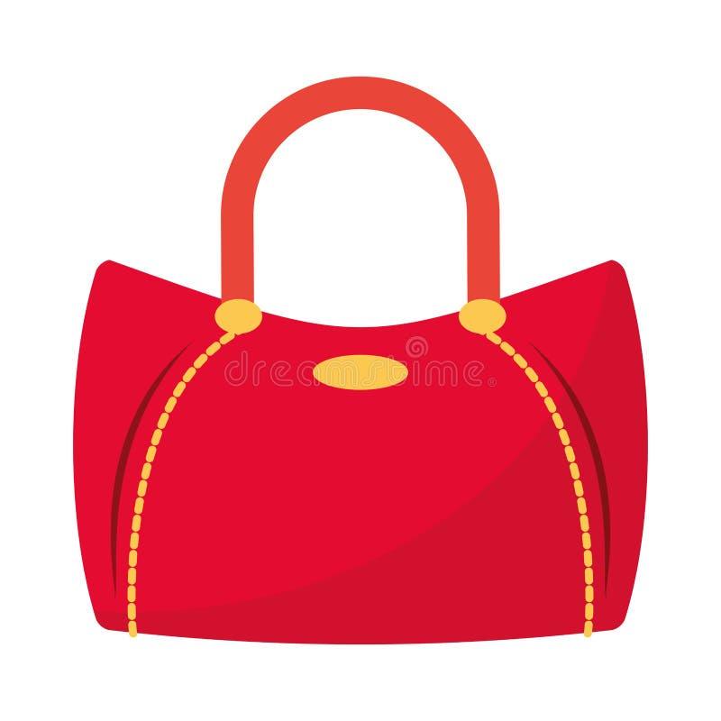 Kobiety mody torby accesorie kresk?wka odizolowywa? wektorow? ilustracj? ilustracji