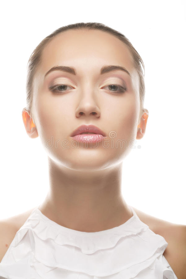 Kobiety piękna twarz fotografia royalty free