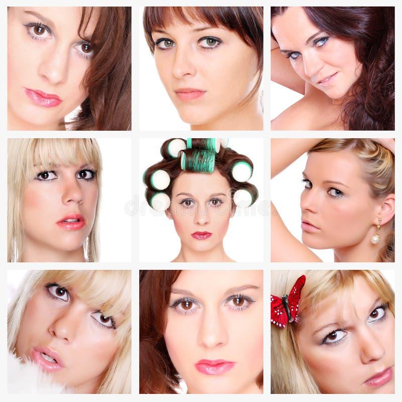 Kobiety piękno. zdjęcia royalty free