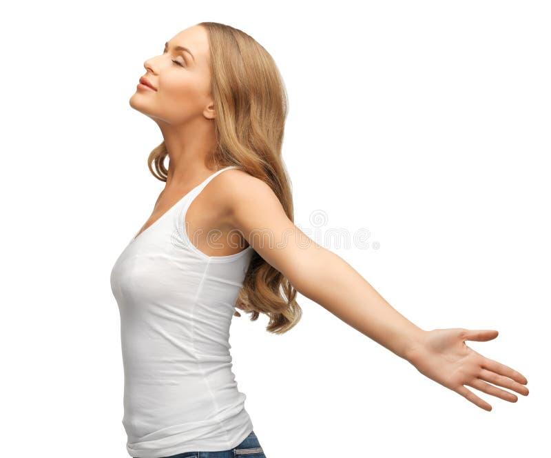 Kobiety podesłania ręki zdjęcie royalty free