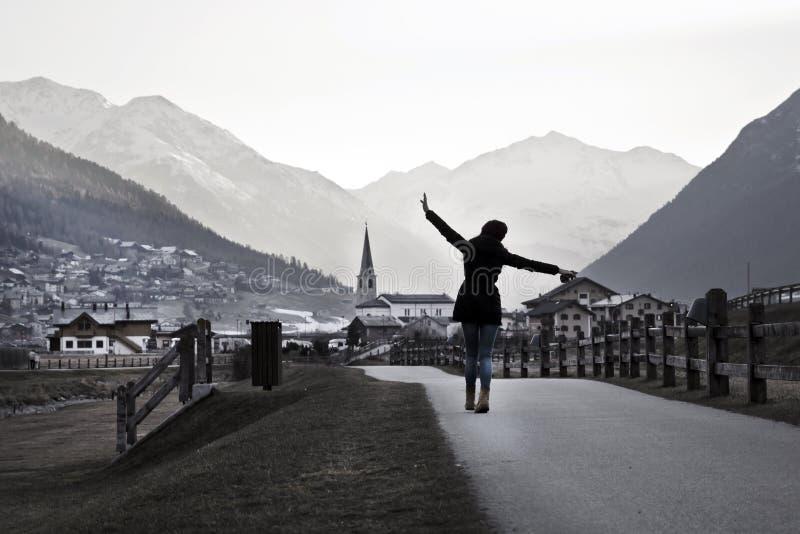 Kobiety podróżowanie obrazy royalty free
