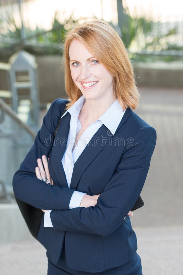 Kobiety Pracującej Headshot obrazy royalty free
