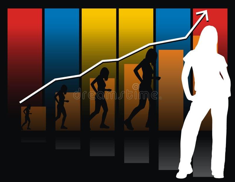 kobiety przedsiębiorstw royalty ilustracja