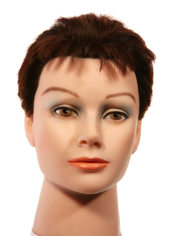kobiety przodu głowy mannequin sally zdjęcia royalty free