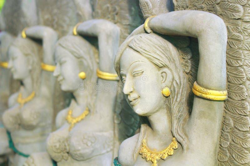 Kobiety rzeźba zdjęcia stock