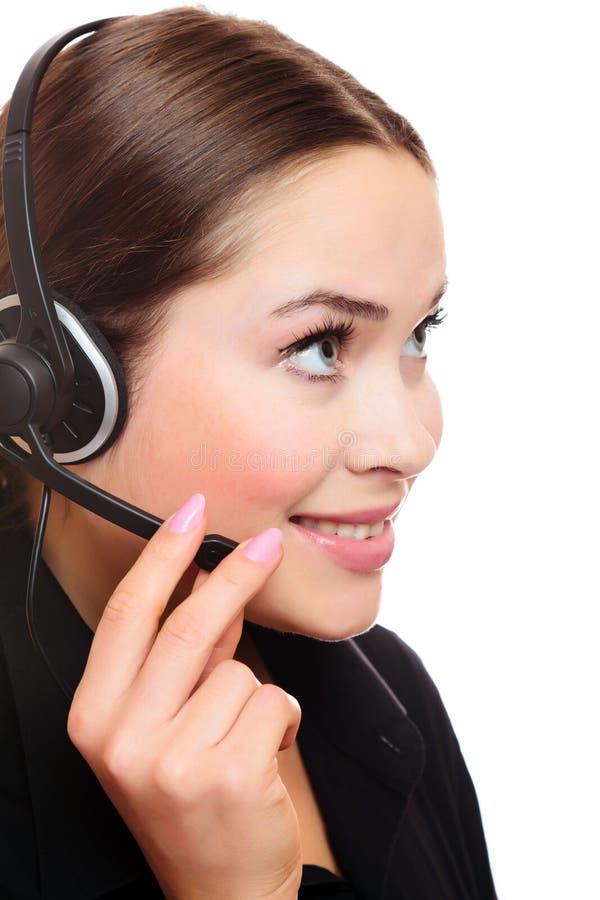 kobiety słuchawki ładna kobieta obrazy royalty free