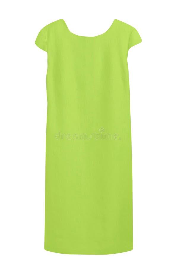 Kobiety ` s zieleni koszula nocna zdjęcia royalty free