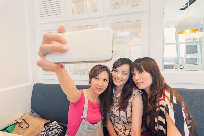 Kobiety selfie obrazy royalty free