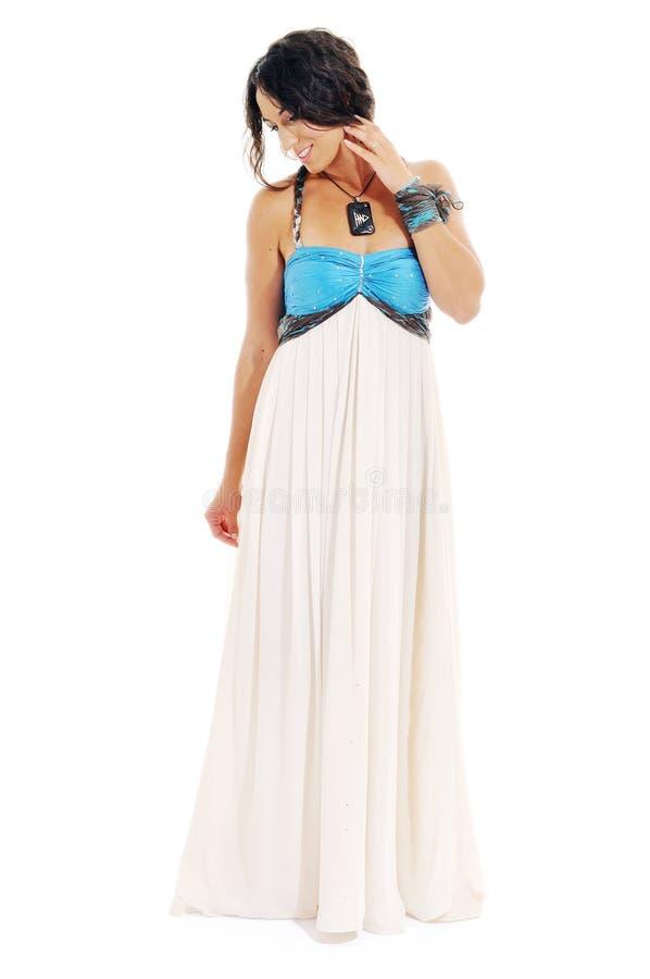Kobiety sukni moda fotografia stock
