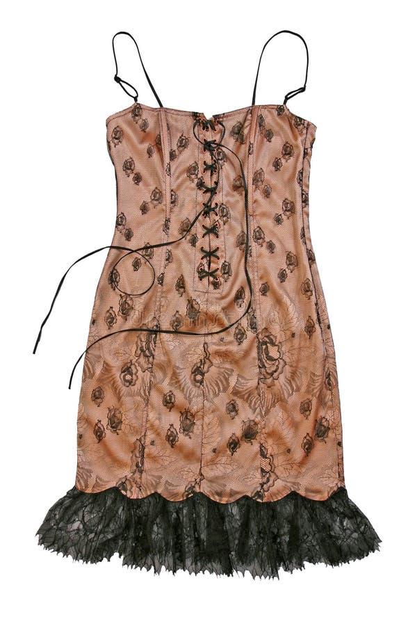 Kobiety suknia obraz royalty free