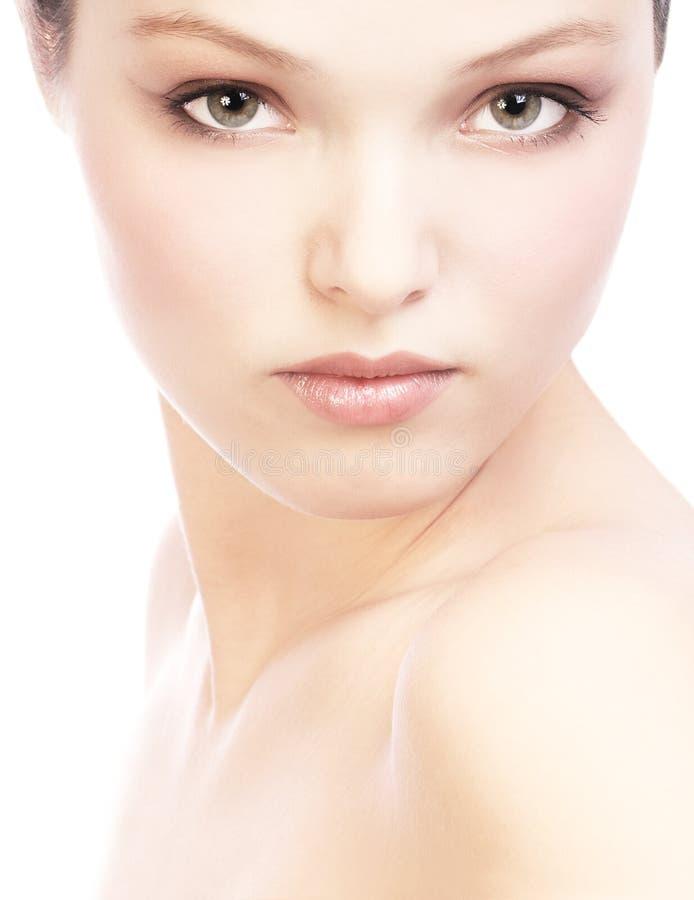 Kobiety twarz obraz royalty free
