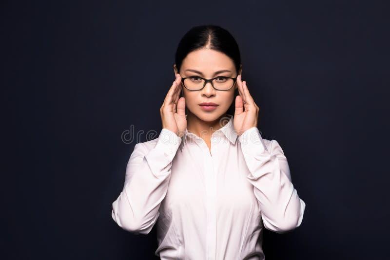 Kobiety uczucia stres od pracy obrazy royalty free