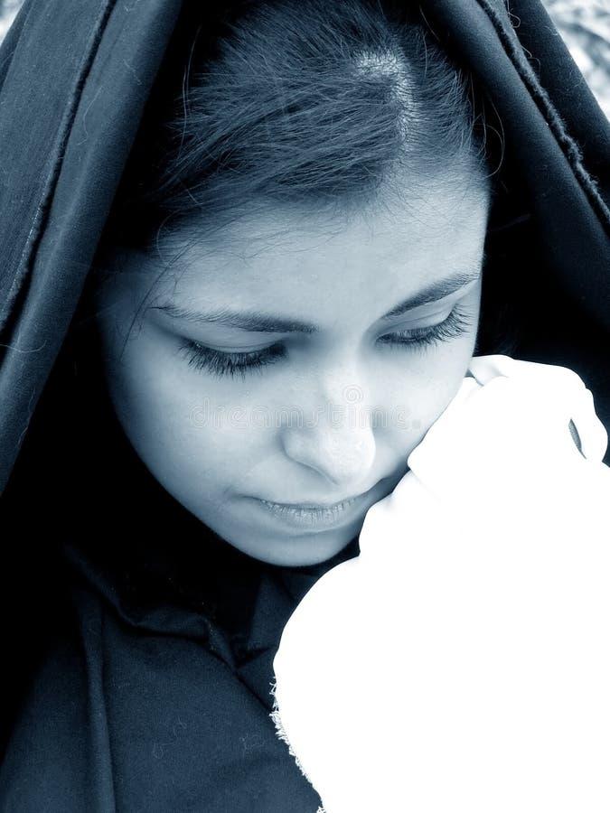 kobiety w żałobie zdjęcie stock