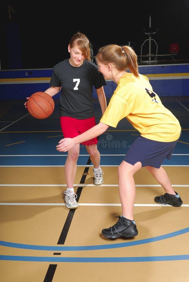 kobiety zawodników koszykówki zdjęcie royalty free