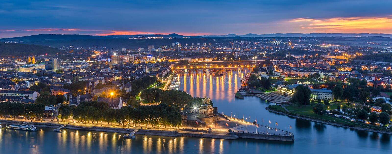 Koblenz royalty free stock image