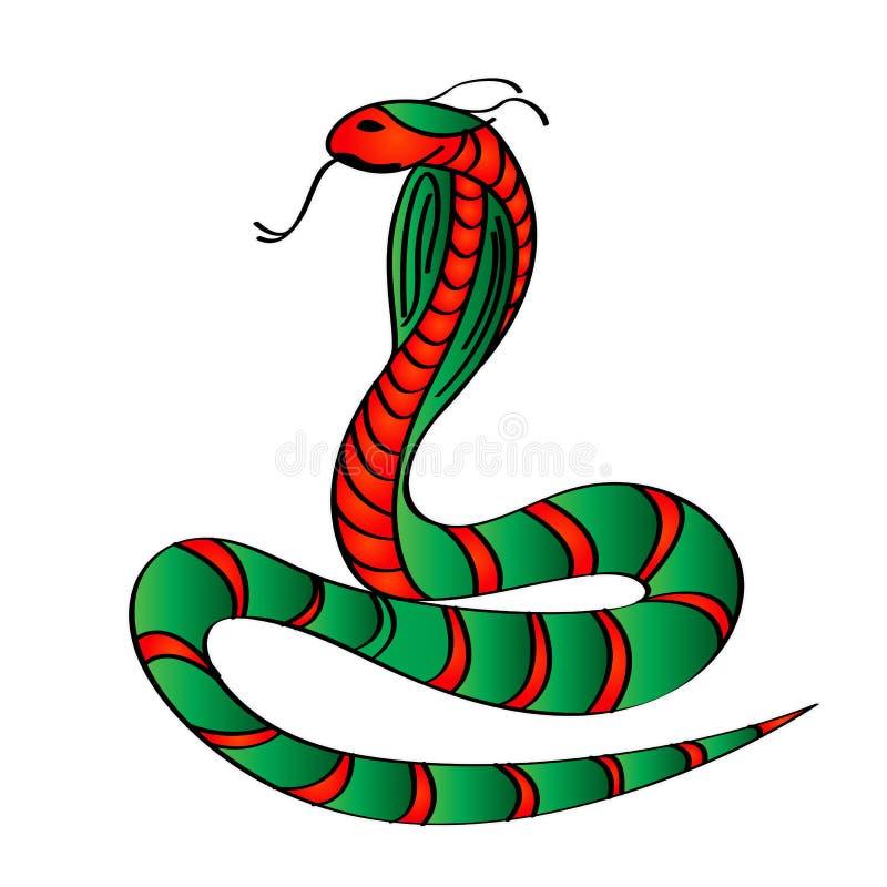 kobra ilustracja wektor