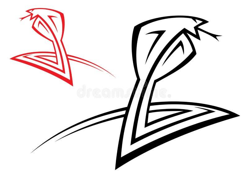 Kobra royalty ilustracja