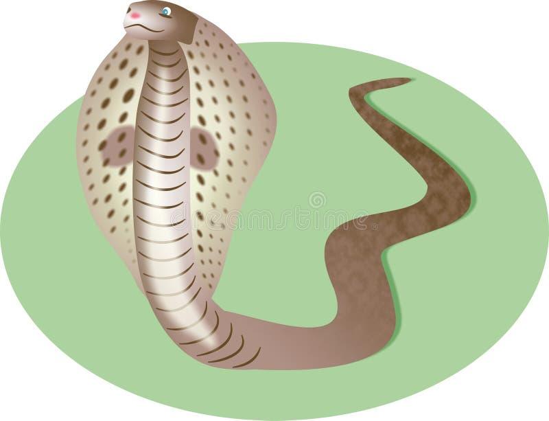 Kobra-Schlange vektor abbildung