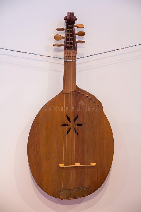 Kobza - старый украинский народный инструмент стоковое изображение rf