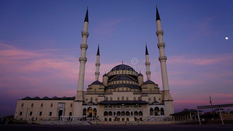 Kocatepe Cami meczet obraz royalty free