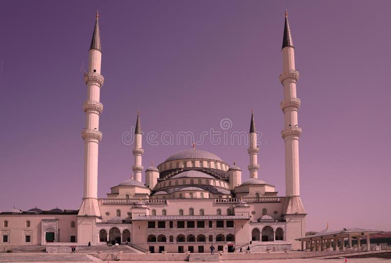 Kocatepe meczet w Ankara stolica indyk zdjęcie stock
