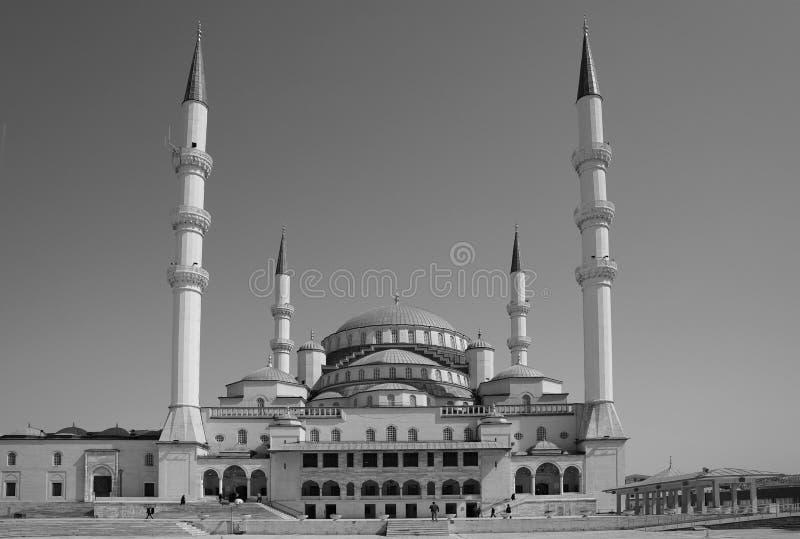 Kocatepe meczet w Ankara stolica indyk fotografia royalty free