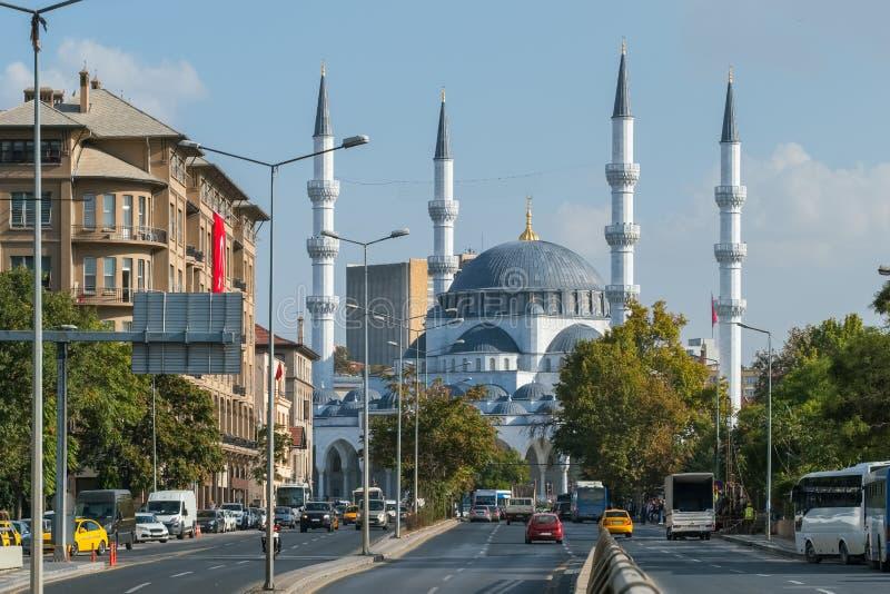 Kocatepe meczet w Ankara, Turcja obraz royalty free
