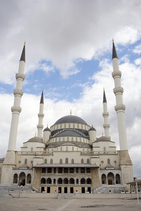 Kocatepe Moschee, Ankara, die Türkei stockbild