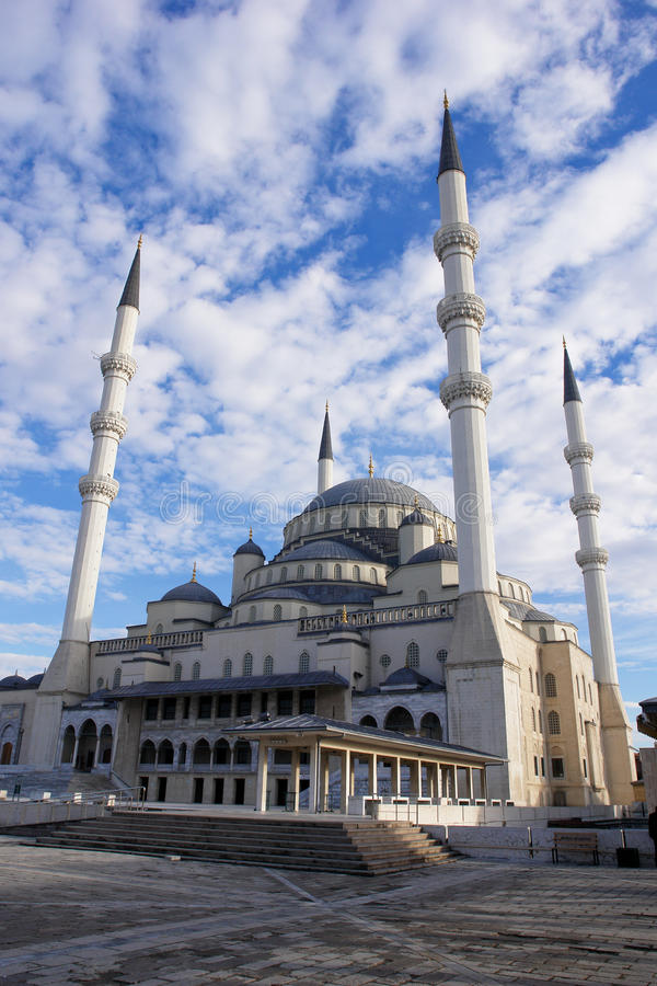 Download Kocatepe Mosque in Ankara stock photo. Image of drawing - 12496058