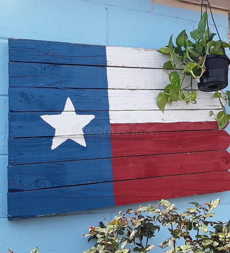 Kocha Mój Teksas flagę fotografia royalty free
