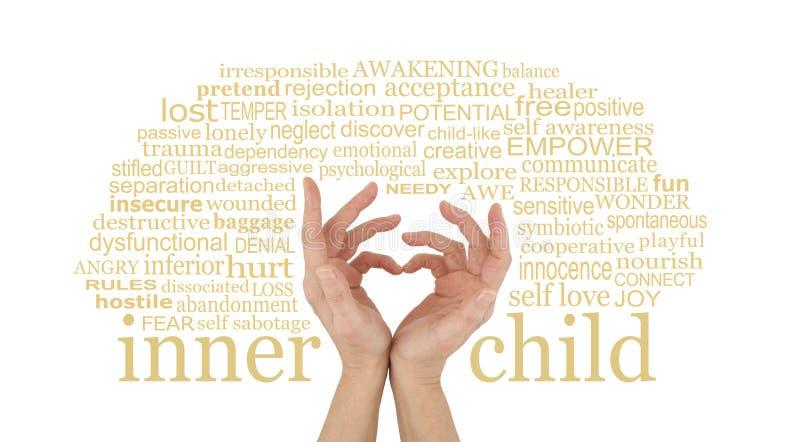 Kocha twój Wewnętrznego dziecka zdjęcie royalty free