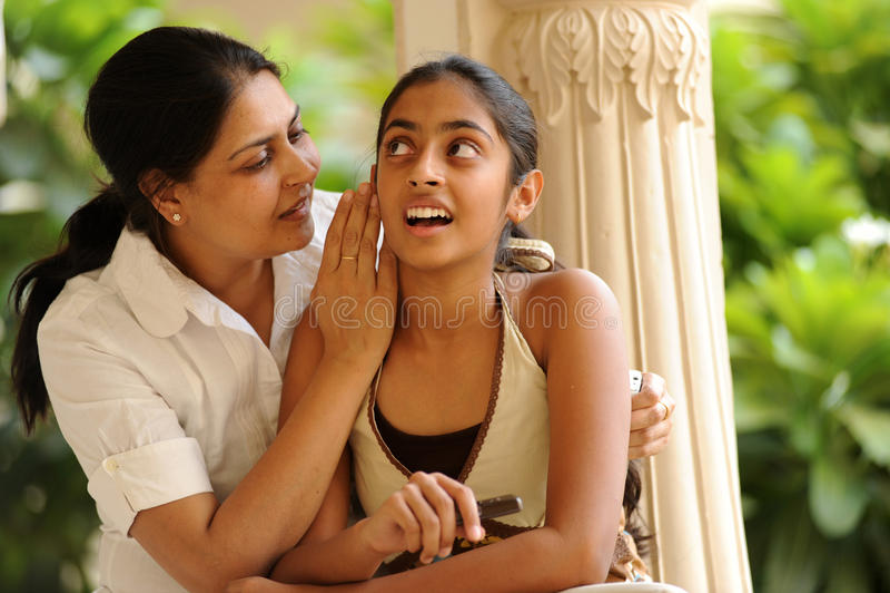 kochająca córki matka zdjęcia royalty free