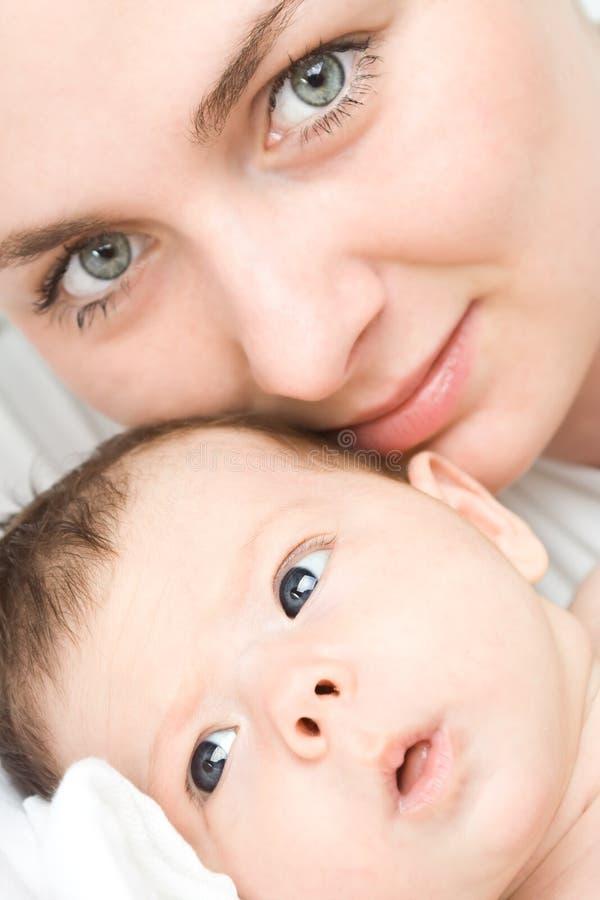 kochająca matka dziecka fotografia royalty free