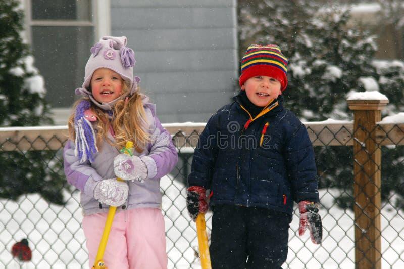 kochająca zima obrazy royalty free
