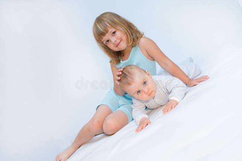 kochający rodzeństwo obraz royalty free