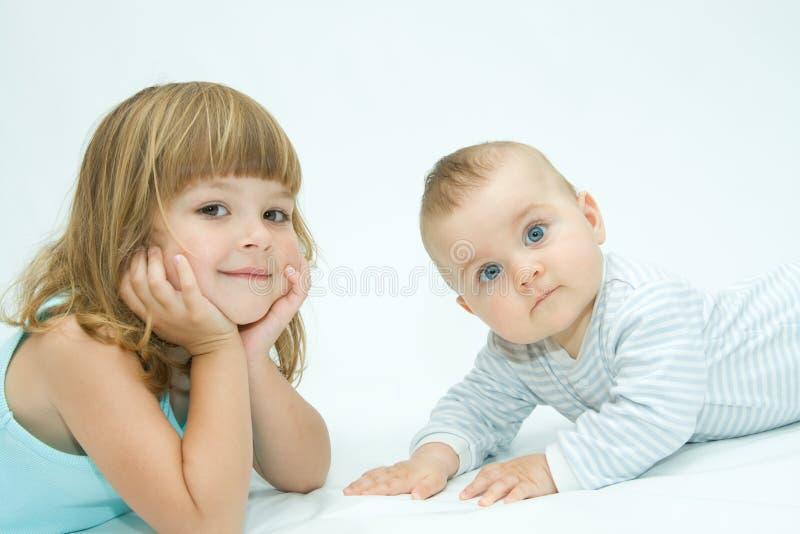 kochający rodzeństwo obraz stock