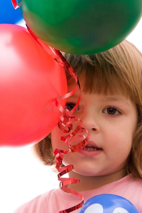kocham balony obraz stock