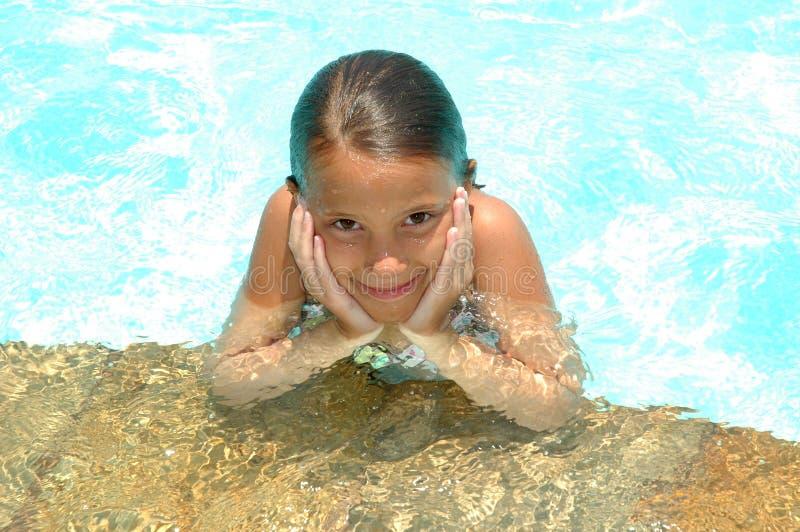 kocham basenów zdjęcia stock