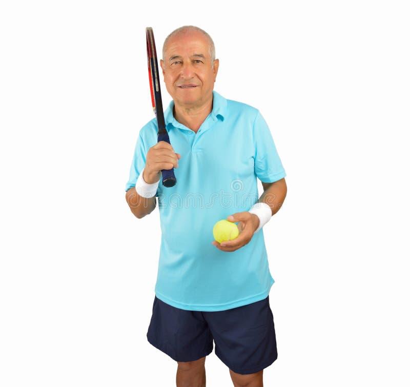 Kocham bawić się tenisa fotografia royalty free