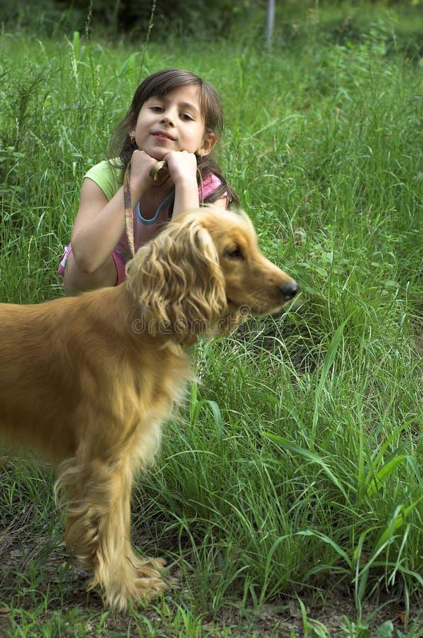 kocham mojego psa zdjęcie stock
