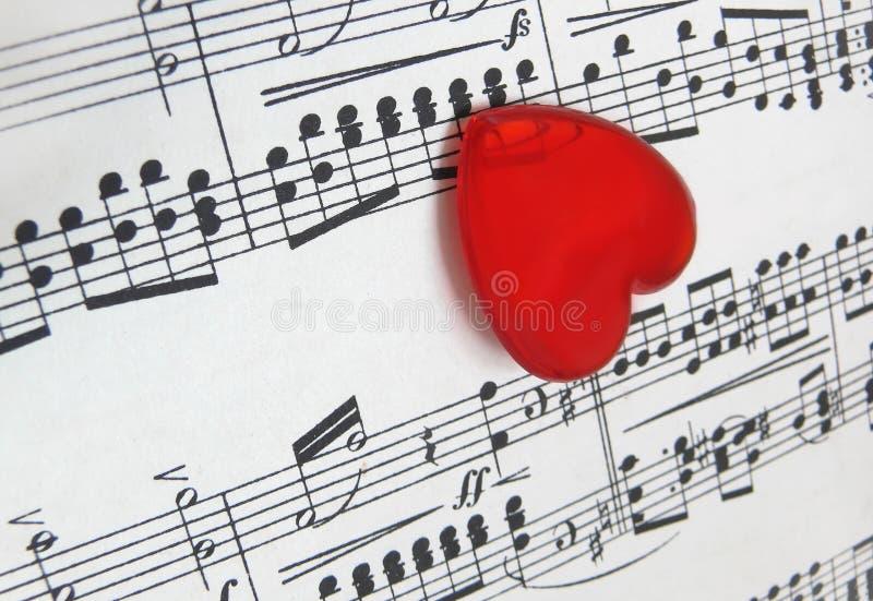 kocham muzykę zdjęcie stock